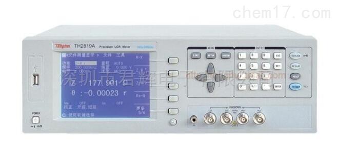 TH2819A型精密LCR数字电桥