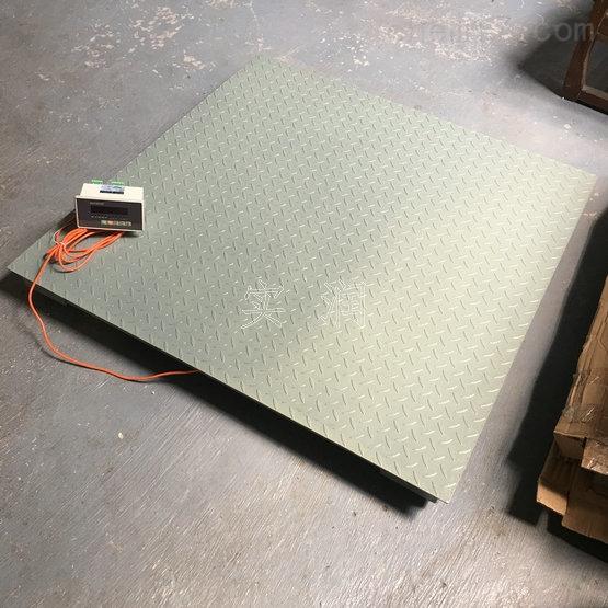 滁州电子磅秤 平台秤1.2m*1.5m地磅秤