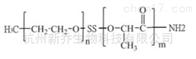 PLA共聚物mPEG-SS-PLA-NH2 MW:2000双硫键嵌段共聚物