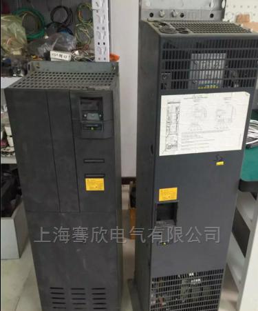 西门子440变频器上电报警电机不转-维修