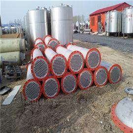 40平方滨州闲置处理二手不锈钢列管冷凝器