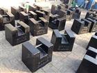 厂家销售500kg铸铁砝码规格平板型-锁型