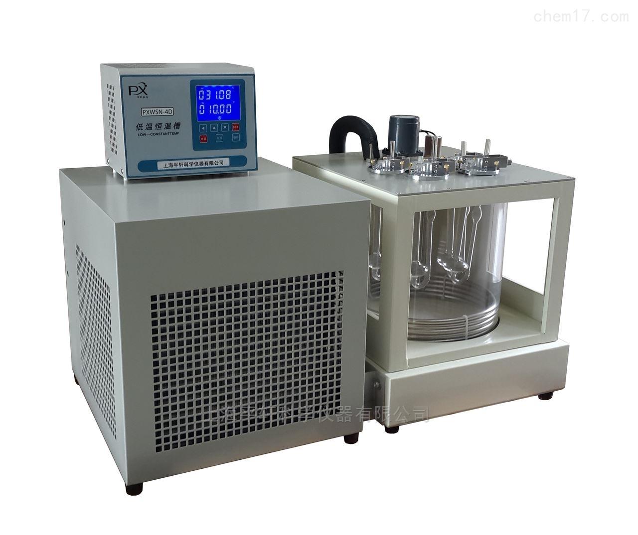 高精度低温运动粘度测定仪