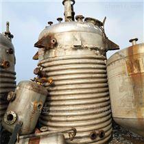 二手10吨不锈钢内外盘管反应釜