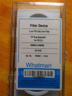 Whatman PM2.5空气监测滤膜PTFE 46.2mm,2µm