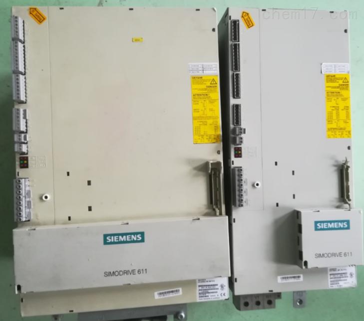 西门子数控四轴机床伺服电源无输出修理