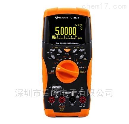 U1272A工业手持式数字万用表