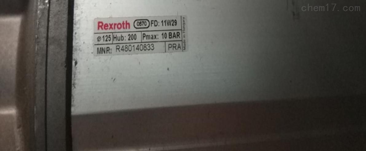 东莞代理rexroth力士乐气缸r480140833