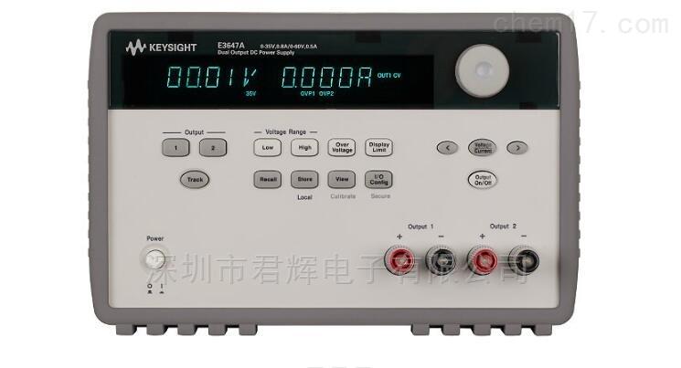E3647A 60W双路输出电源