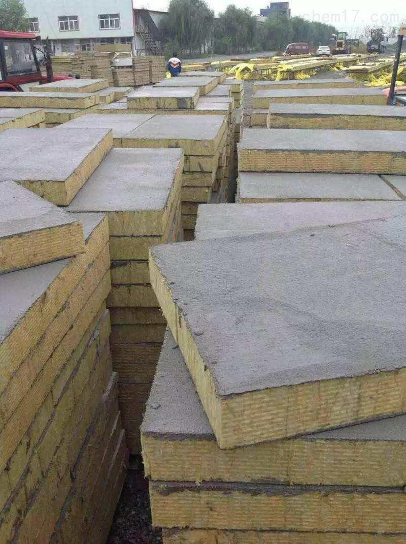 固体砂浆岩棉复合板