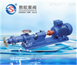 I-1B型螺桿泵(濃漿泵)