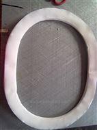 400*500異形四氟包覆石棉人孔墊片價格