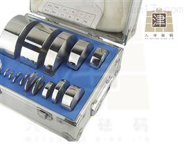 F1增砣不锈钢砝码1kg1公斤1千克饼式砝码盒装