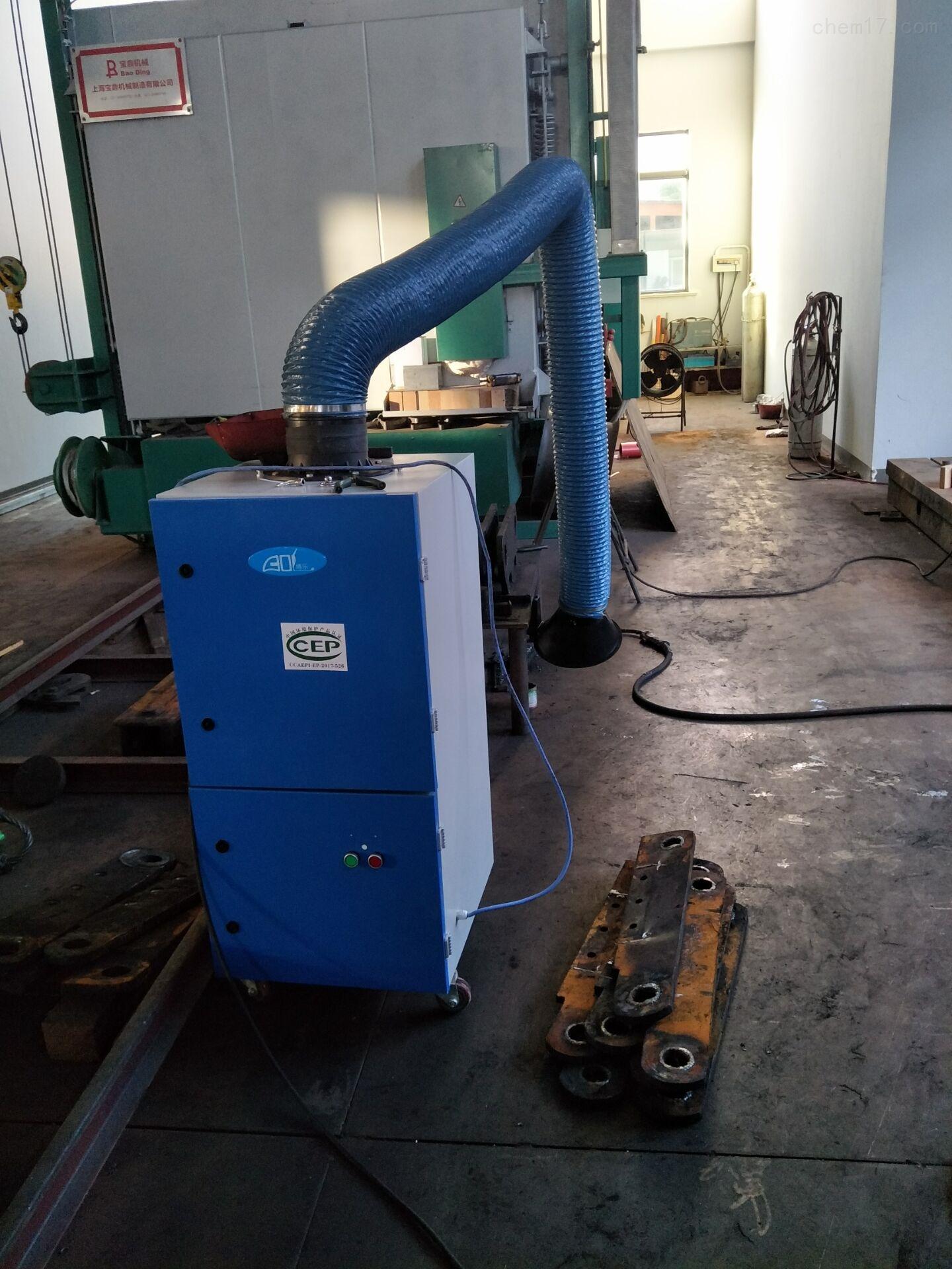 電焊機煙塵收集環保用吸塵器
