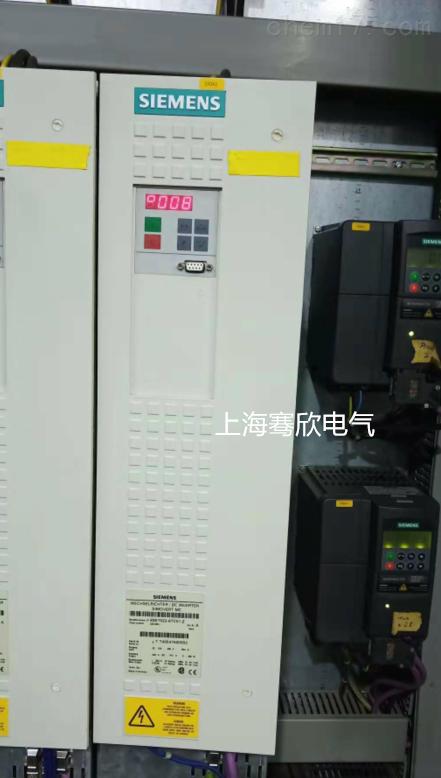 西门子6SE70变频电压输出不平衡当天修复