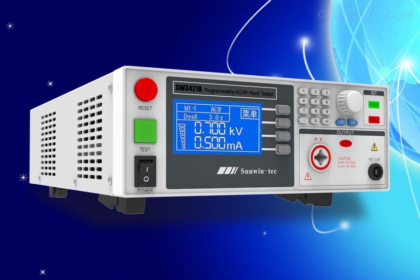 尚沄绝缘耐压测试仪SW3421B(5KVAC/12mA)