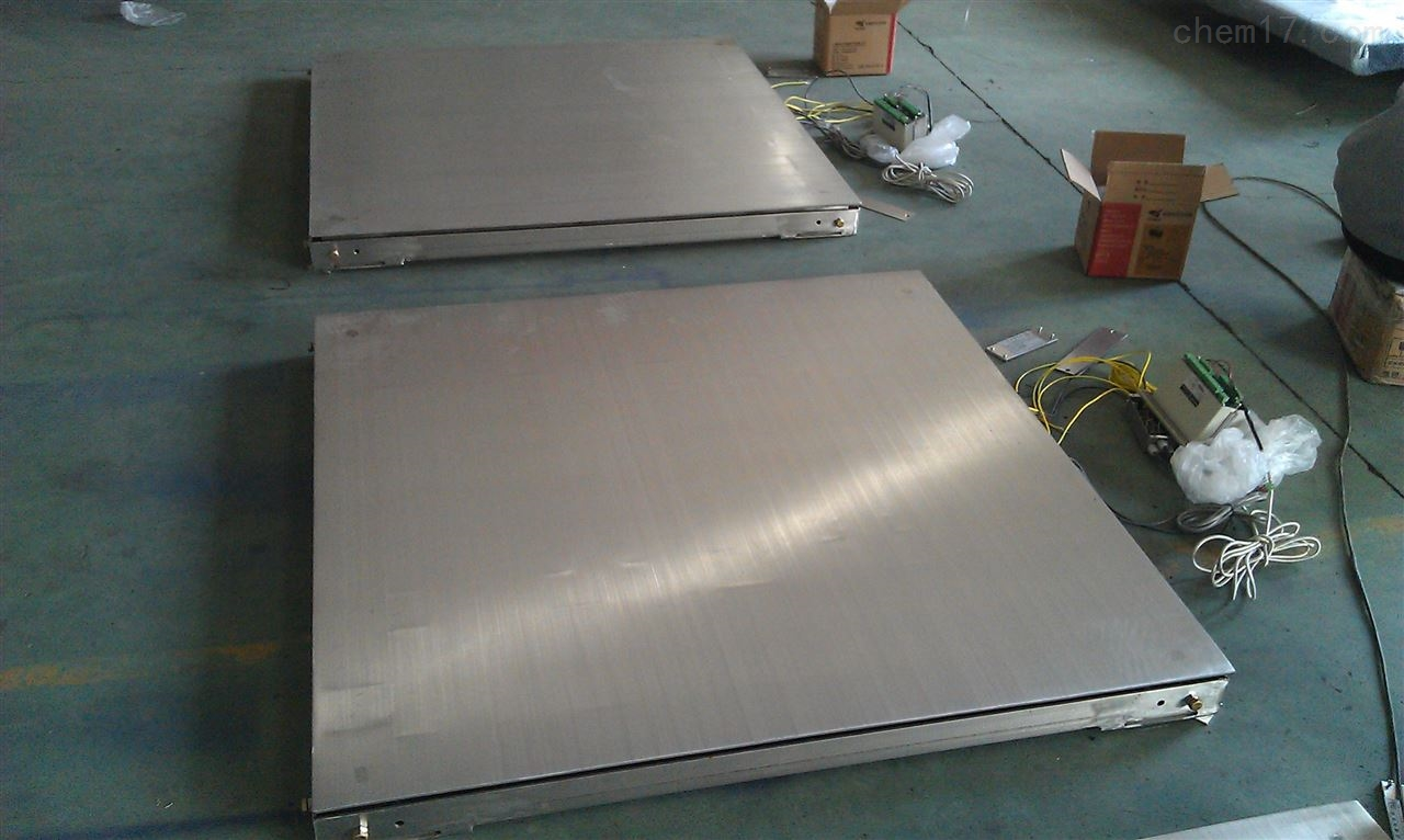 稳定性能好称重3吨不锈钢电子地磅价格