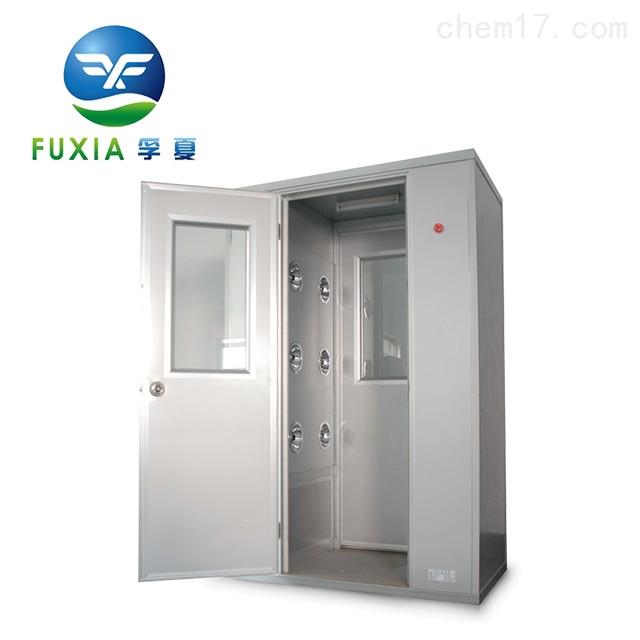 單吹風淋室自動門互鎖通道