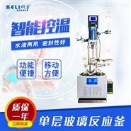 上海科雳小型单层玻璃反应釜