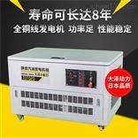 12kw静音汽油发电机小型公寓用