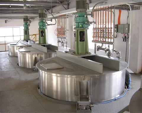 制药厂计量罐安装500KG称重模块带4-20MA