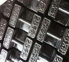 刷防腐黑漆25千克锁型铸铁砝码