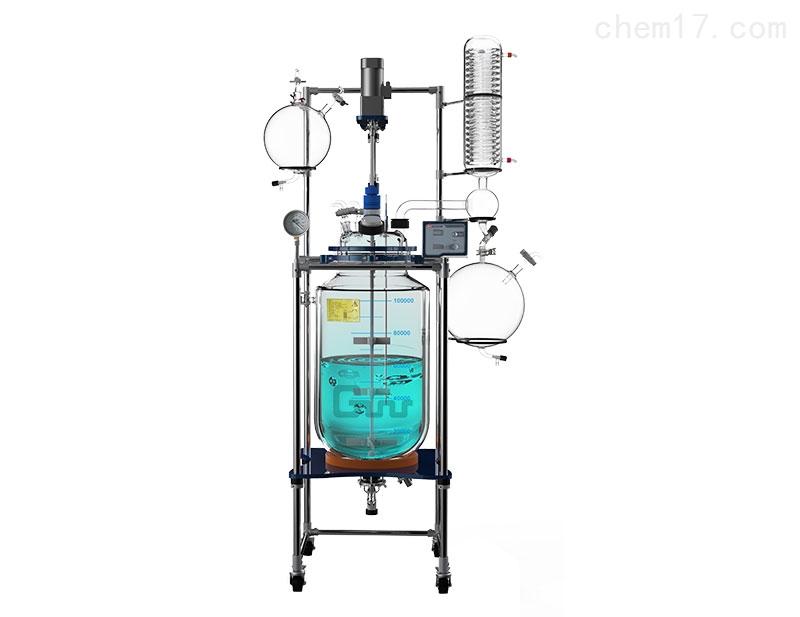 调速玻璃反应釜(单层/双层/三层)