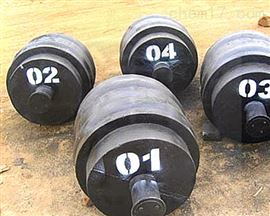 M1级圆滚型铸铁1吨砝码-1000kg圆形砝码现货