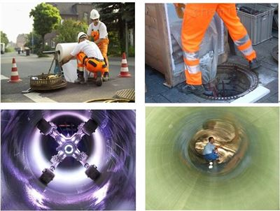 管道非開挖修複紫外光固化修複