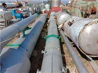 二手9新20吨四效降膜式蒸发器辅助设备齐全