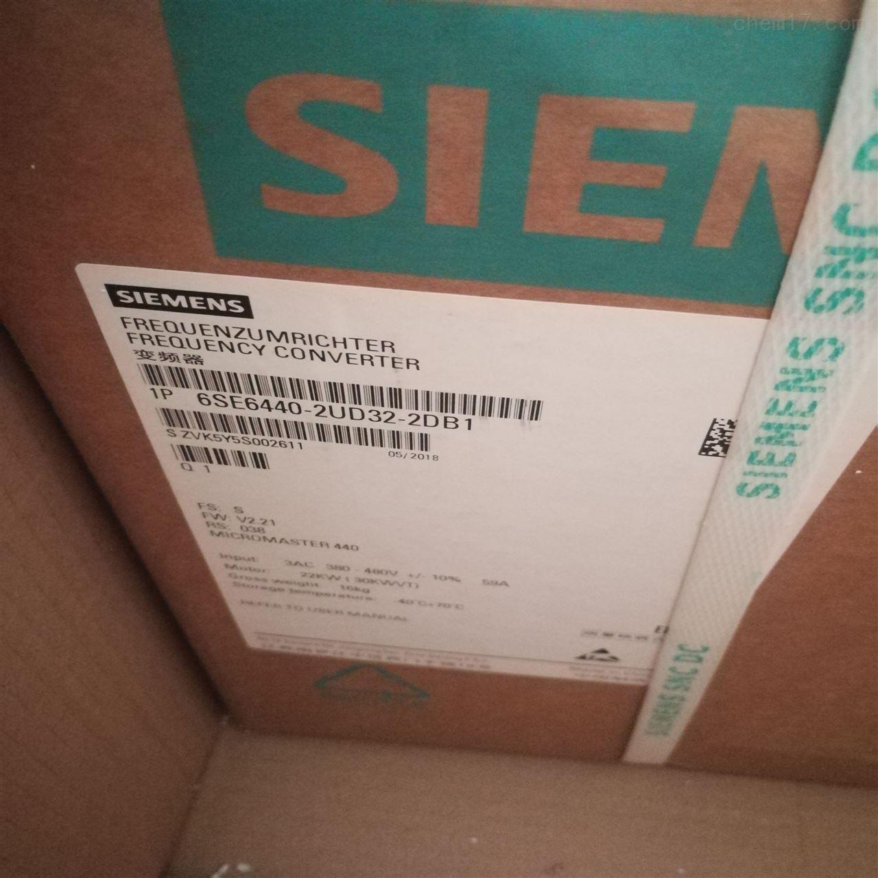西门子变频器6SE6440-2UD34-5-FB1维修