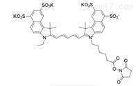 活体成像Sulfo-Cyanine5.5 NHS ester水溶性荧光染料