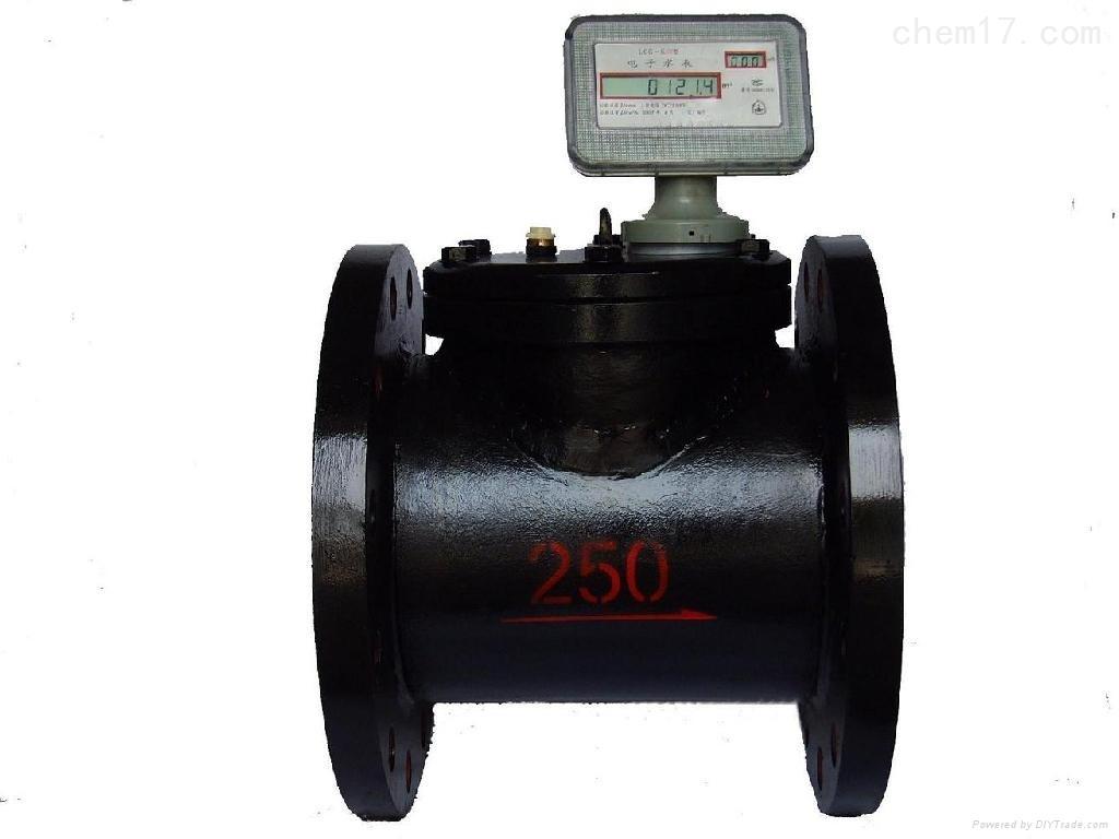 高压电子水表