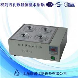 HHS-4双列四孔水浴锅