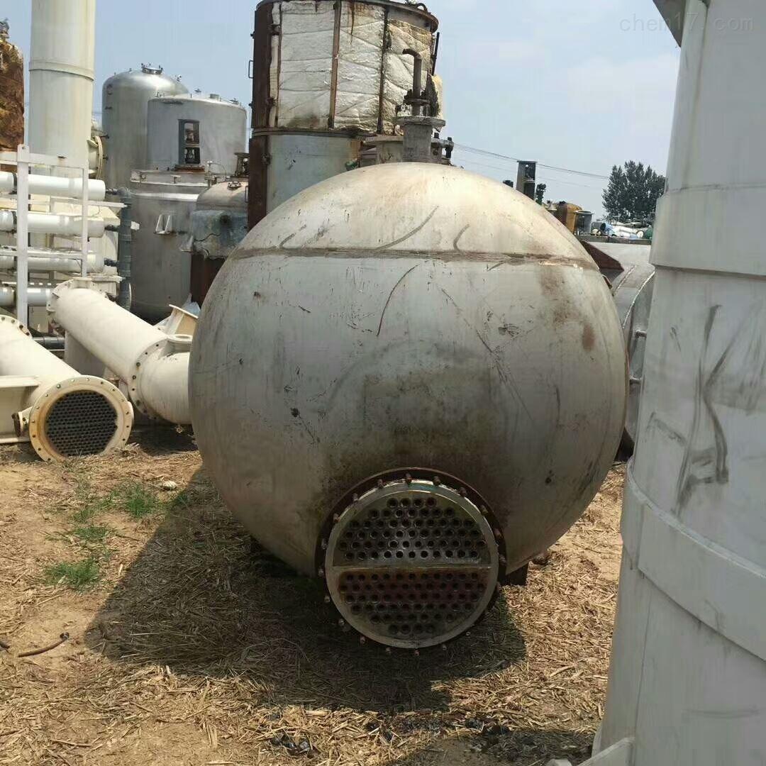 回收不锈钢再沸器回收二手不锈钢再沸器
