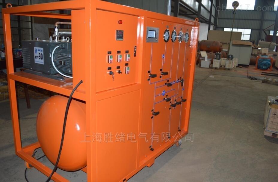 SF6承装气体抽真空充气装置