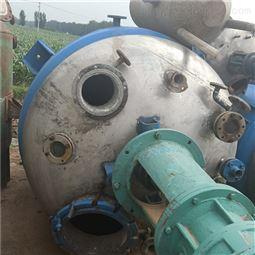 吉林长期回收制药厂二手外抛光不锈钢反应釜