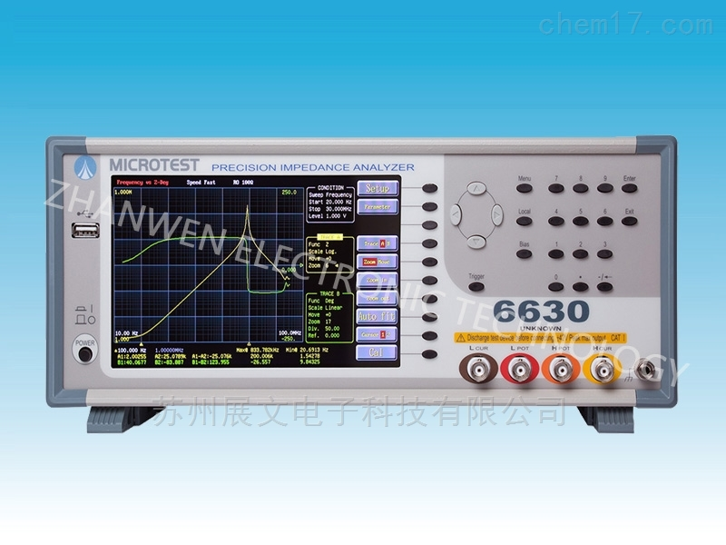 台湾益和6630精密阻抗分析仪6630
