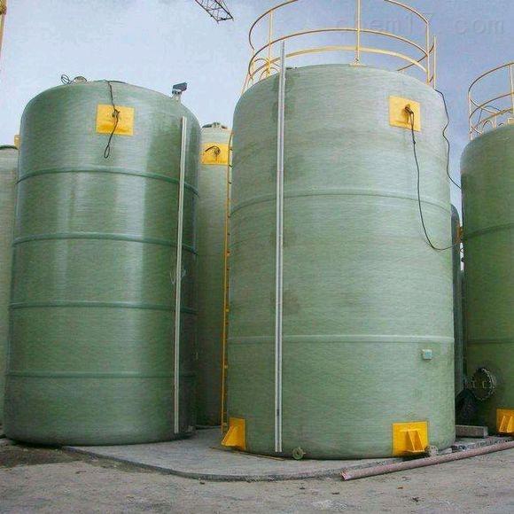 淄博高價回收100立方玻璃鋼化工儲罐15台