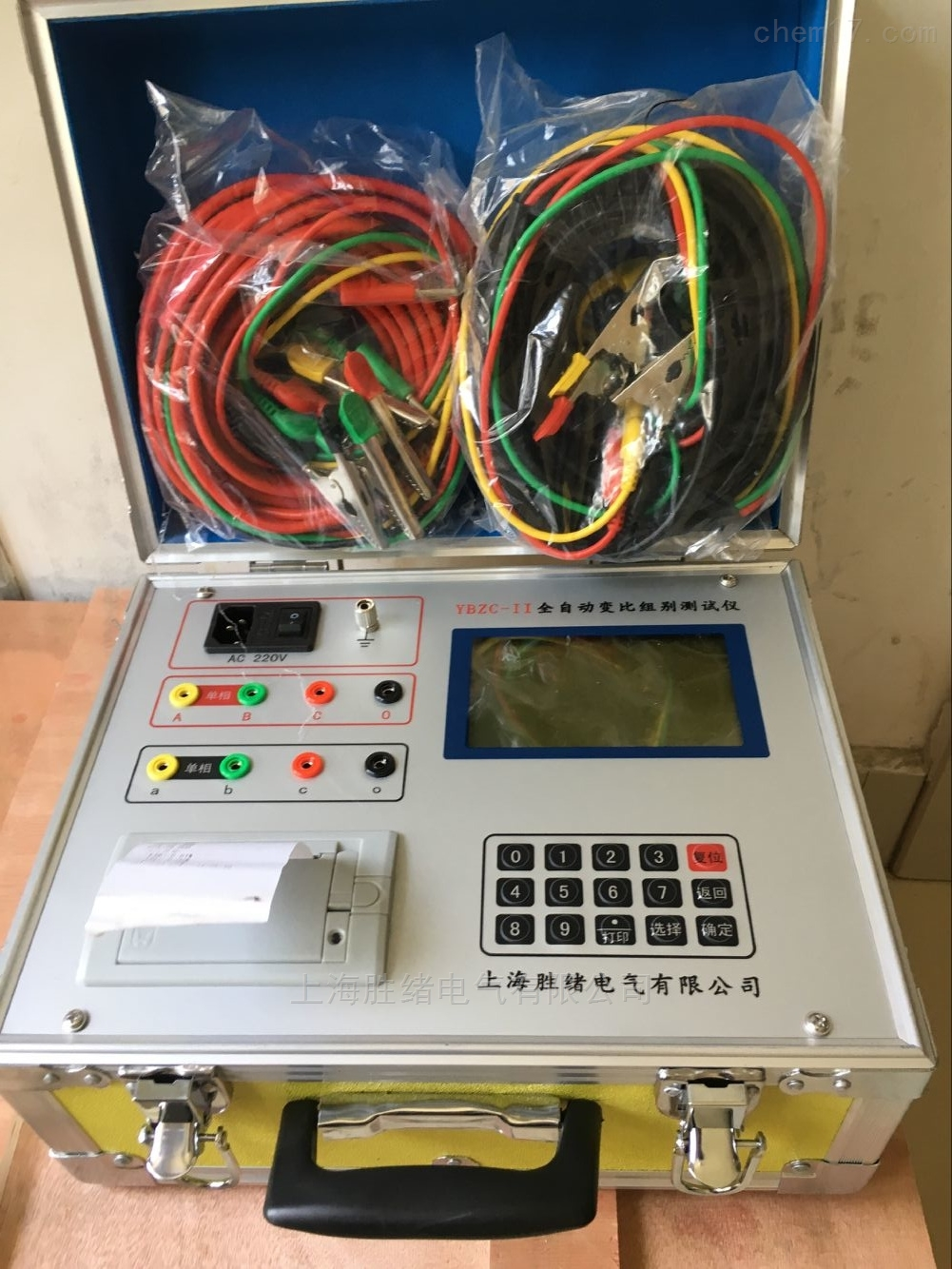 变压器变比测试仪高低压检测设施