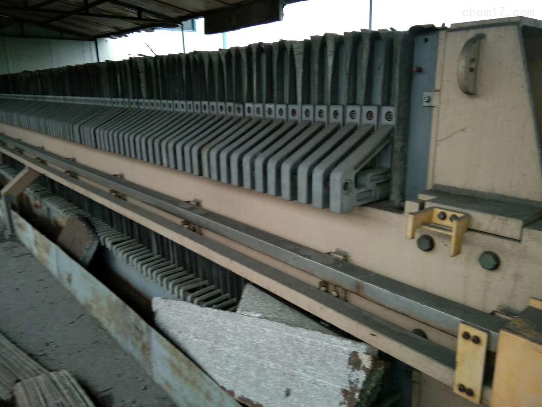 自动拉板压滤机二手250平方自动拉板压滤机回收原来如此