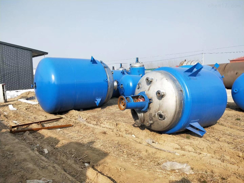 不锈钢5吨反应釜回收二手不锈钢5吨反应釜不吐不快