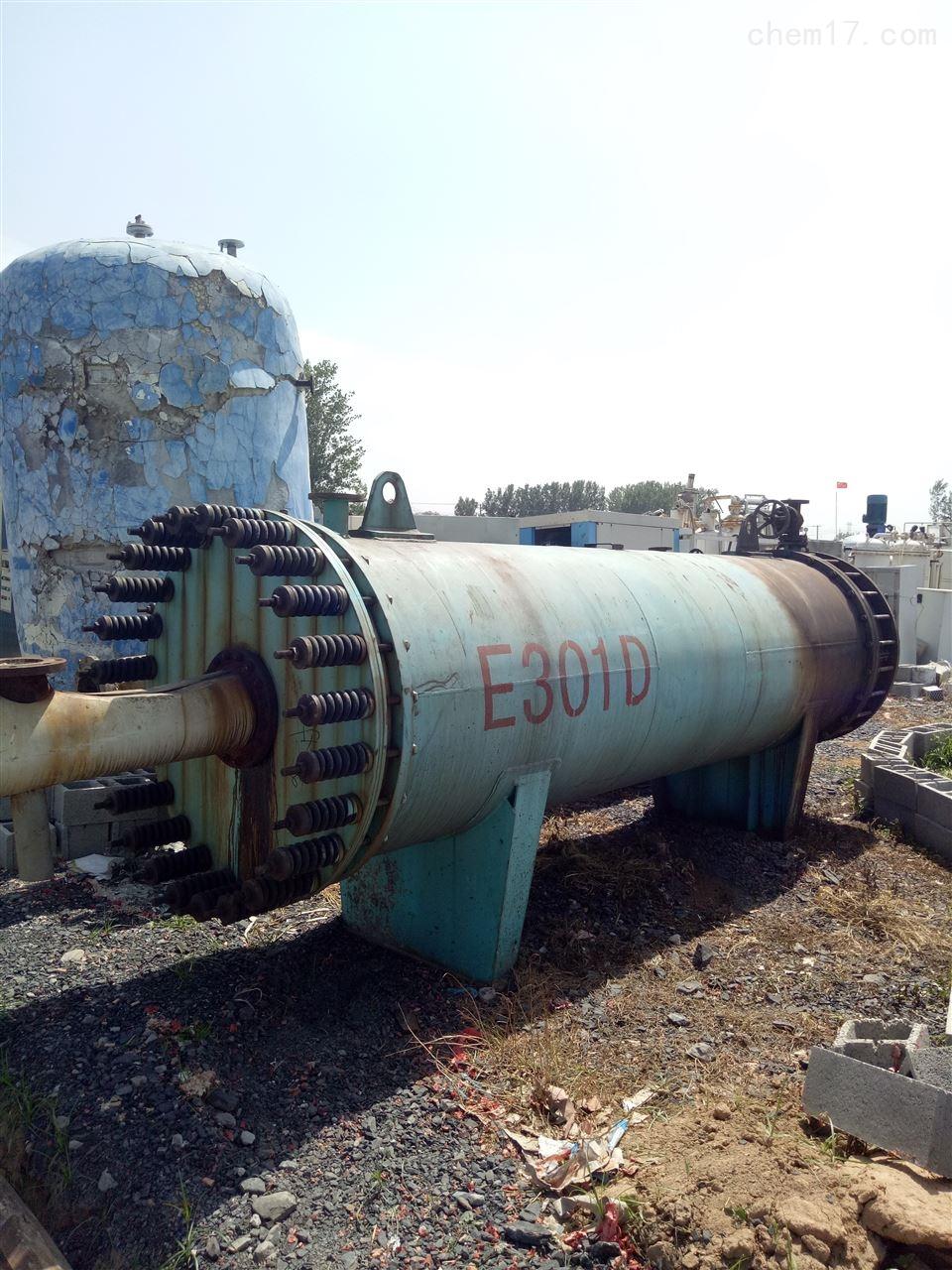 石墨列管泠凝器二手80平方的石墨列管泠凝器回收