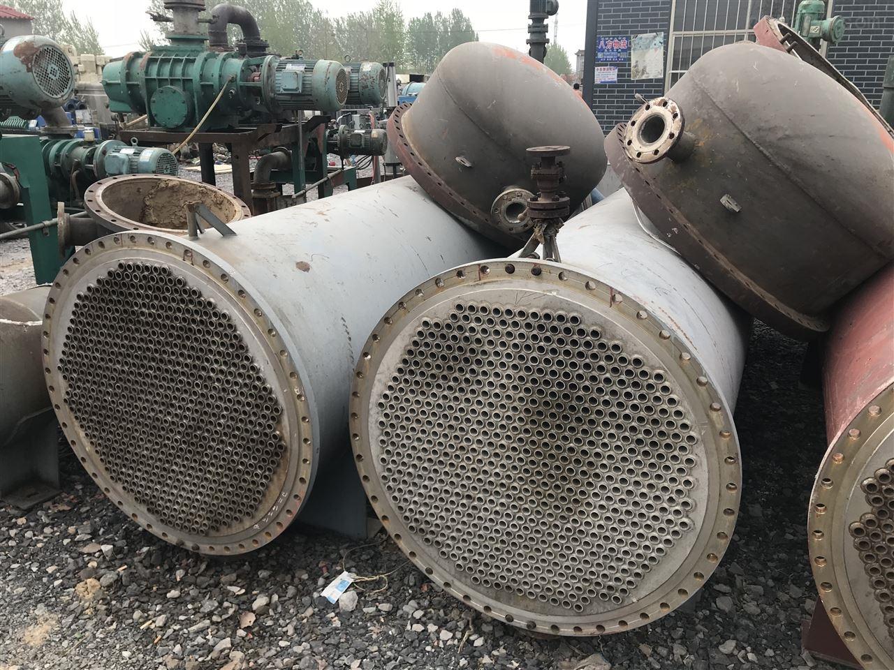 全不锈钢泠凝器二手一百平方的全不锈钢泠凝器回收