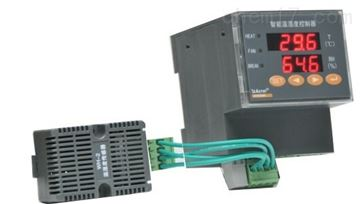 WHD90R-11導軌安裝溫濕度控製器