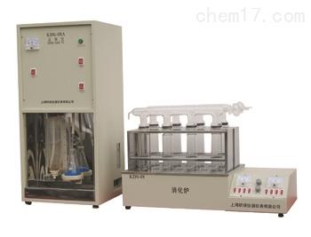 上海KDN-08C数显温控定氮仪 电极型蒸馏器