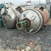 鄂州二手3吨内盘管反应釜直销