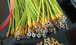 黄绿接地线BVR6平方长300毫米质量检测