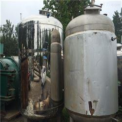 回收二手5吨乳品发酵罐