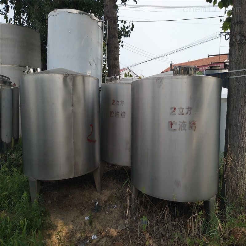 33大量转让二手不锈钢储罐